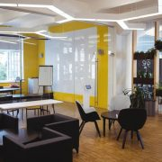 Solar LED skylighting in the living area