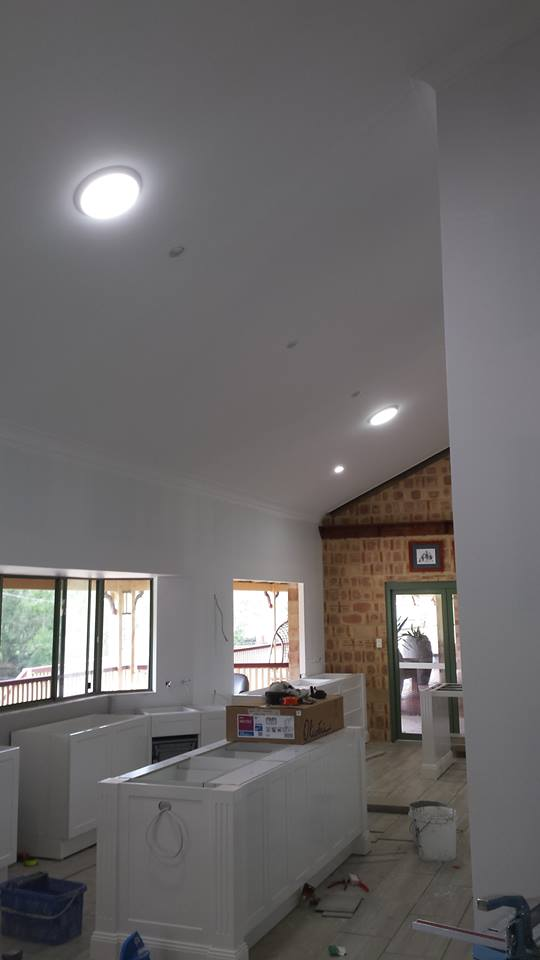 Solar LED skylight Lightening kitchen and living area