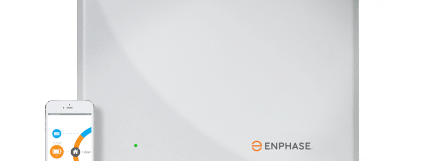 Solar battery storage - Enphase