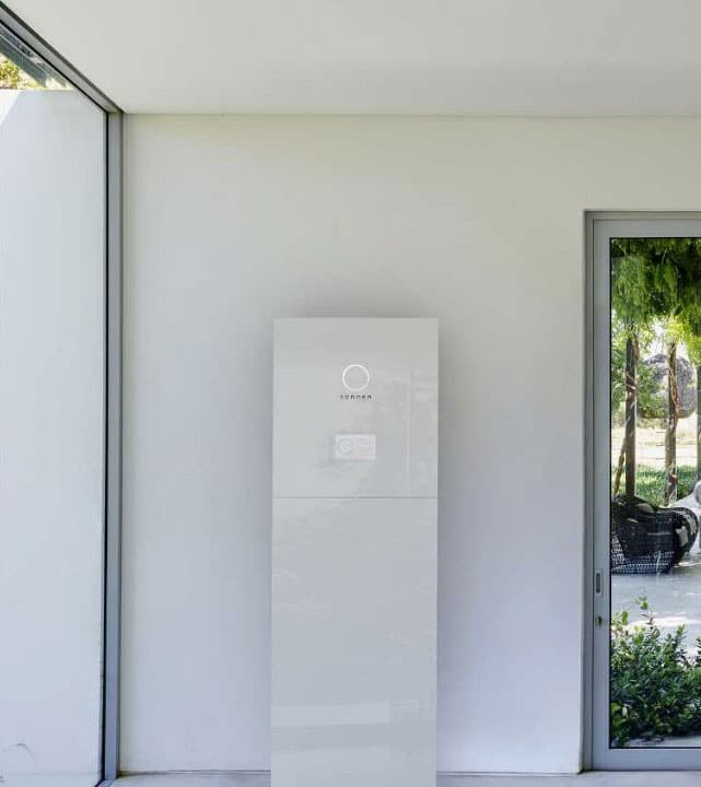 Solar battery storage - Sonnen interior view