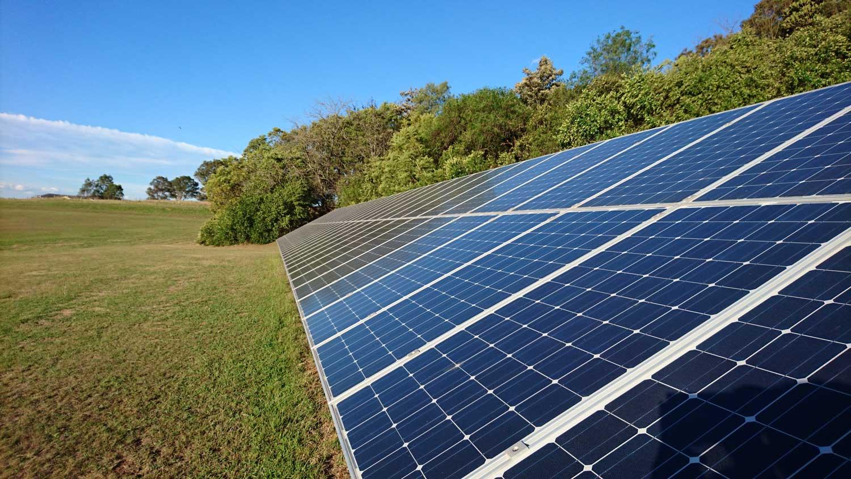 Solar panel efficiency measurement