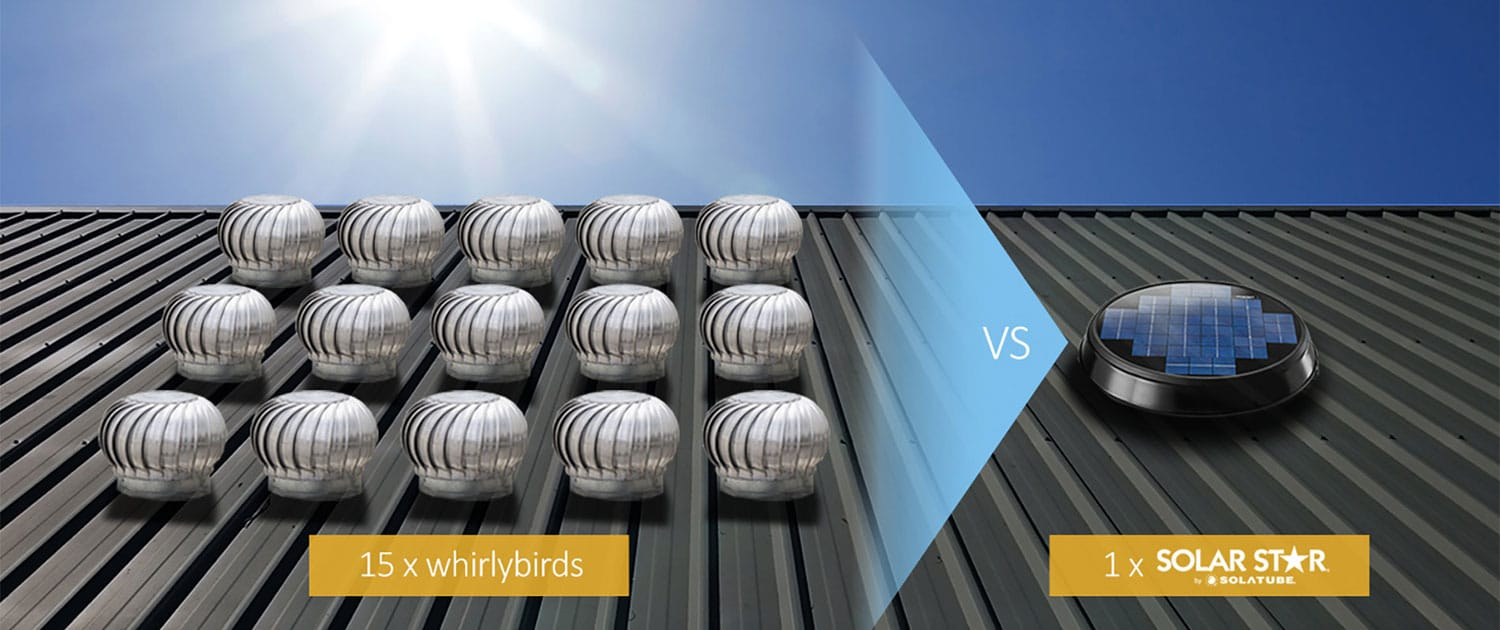 Solar roof fans vs electric fans