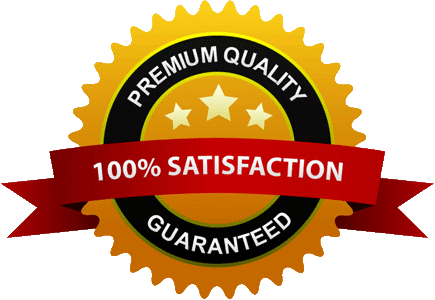 100% Satisfaction Premium Guaranteed