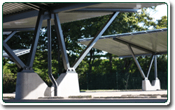 Optional accessories For carports