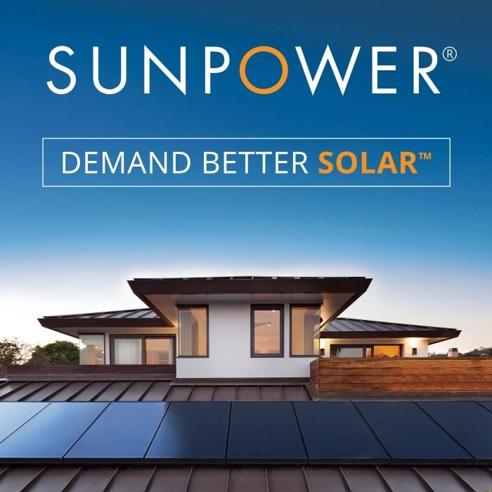 sunpower solar panels