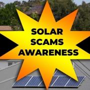 solar scams awareness