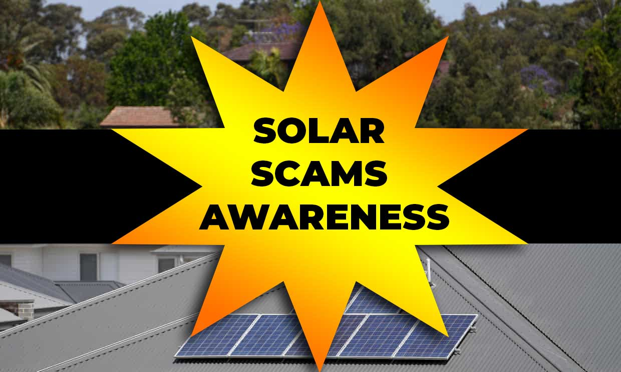 solar scams awareness