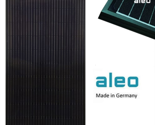 Aleo German made solar panels