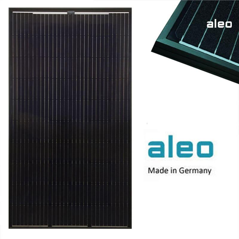 Aleo German made solar panels