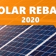 Government solar rebate 2020